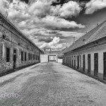 Cellencomplex in Theresienstadt Tsjechië