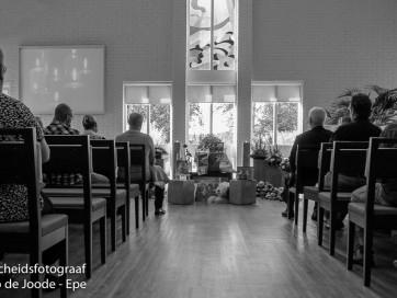 Uitvaartfotografie / afscheidsfotograaf: Plechtigheid crematorium Steenbrugge