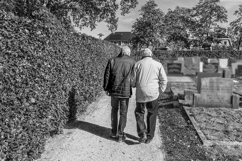 Dementie begeleiding bij een afscheid