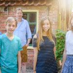 Familiefoto na een Moment Design fotoshoot