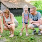 Kinderspelletje tijdens Moment Design fotografie